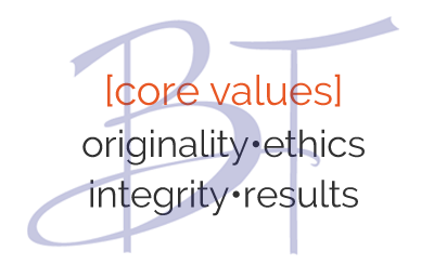 Core values Beechler Tomberlin PLLC; originality, ethics, integrity, results